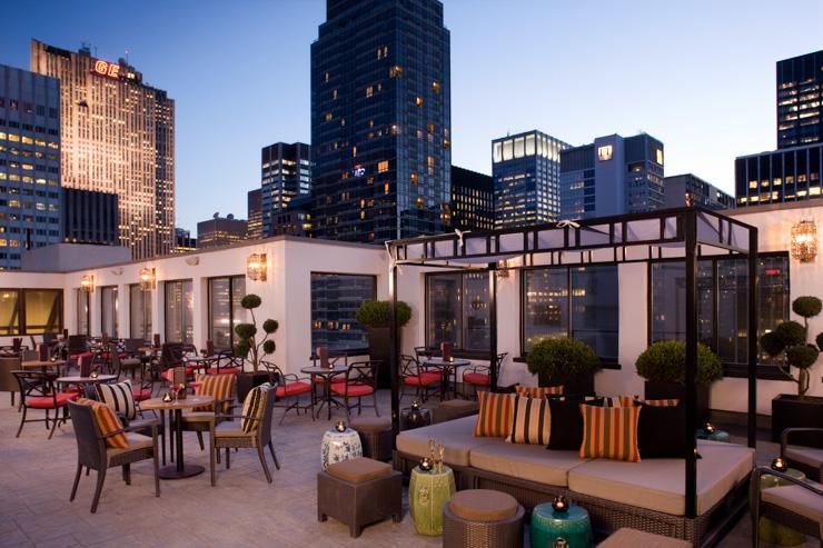Salon de Ning at Peninsula Hotel New York - La terrasse