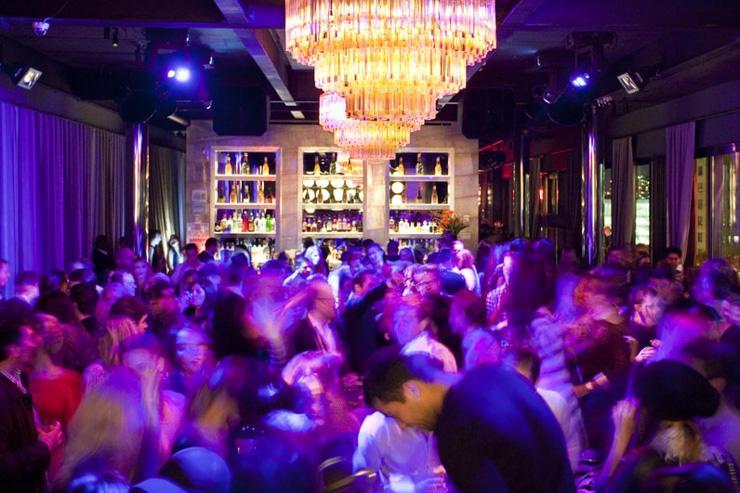 PH-D Rooftop Lounge at Dream Downtown - Le dancefloor bondé