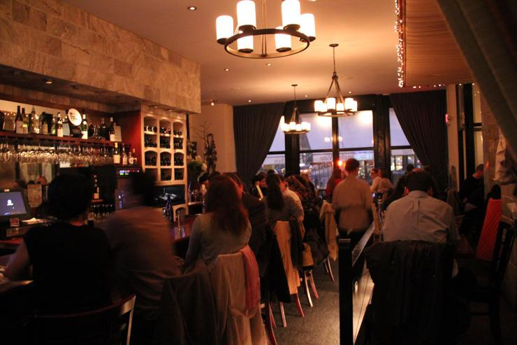 The Tangled Vine (Wine Bar & Kitchen) - Intérieur du bar