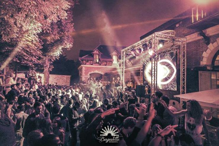 Clubbing estival à Bagatelle