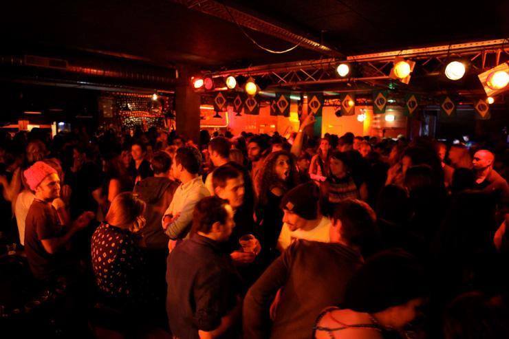 Clubbing à la Bellevilloise
