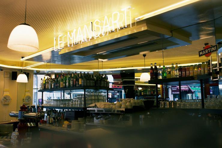 Le Mansart - Intérieur du bar