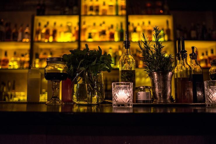 Moonshiner - Intérieur du bar