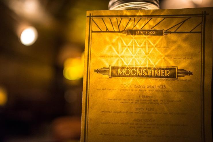 Moonshiner - Détail de la déco