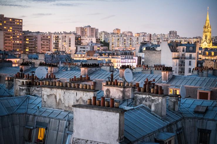 Le Perchoir - Vue sur Paris