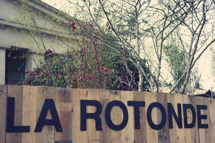 La Rotonde - Entrée des lieux