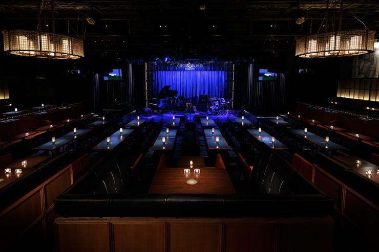 Blue Note Tokyo - Intérieur du club