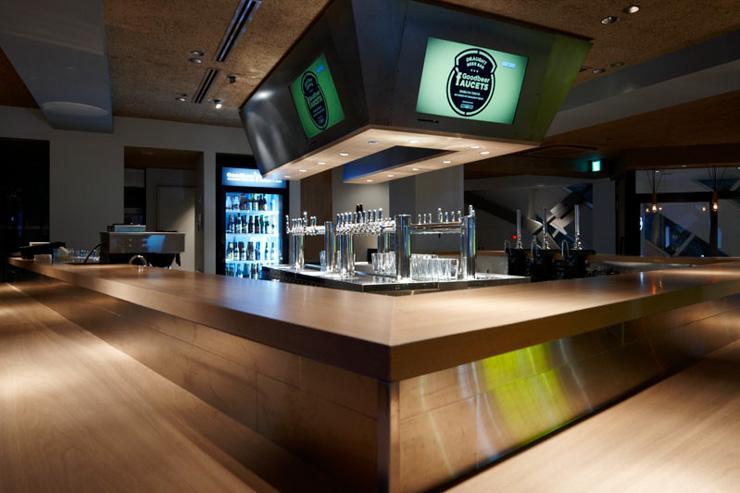 Goodbeer Faucets - Intérieur du bar