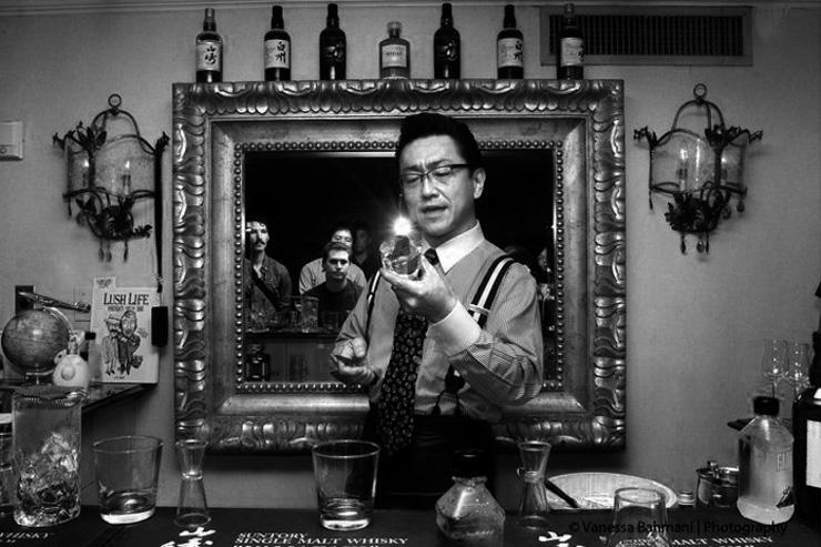Hidetsugo Ueno, mixologiste en chef du High Five