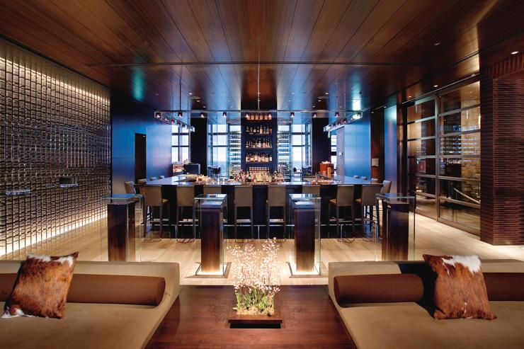 Mandarin Bar au Mandarin Oriental Tokyo - Intérieur du bar