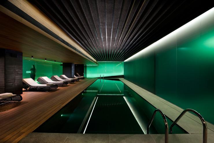 Spa au Mandarin Oriental Barcelona - Piscine intérieure