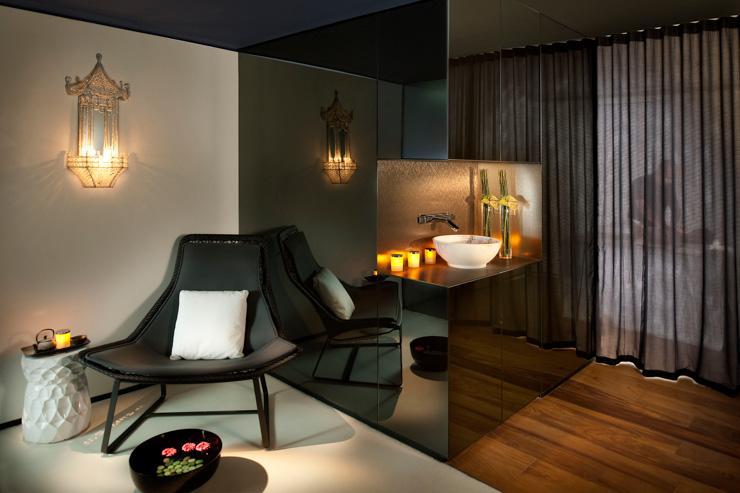Spa au Mandarin Oriental Barcelona - Accueil