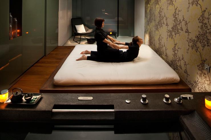 Spa au Mandarin Oriental Barcelona - Cabine de soins