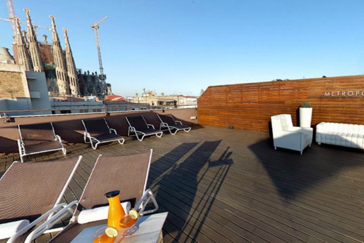 Metropolitan Sagrada Familia - Sundeck sur le toit