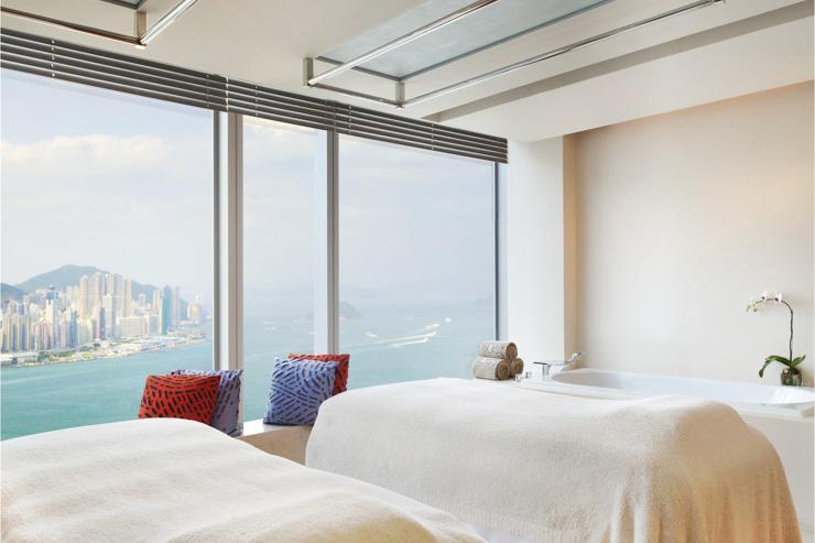 Bliss Spa au W Hong Kong - Cabine de soins