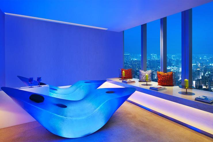 Bliss Spa au W Hong Kong - Espace relaxation