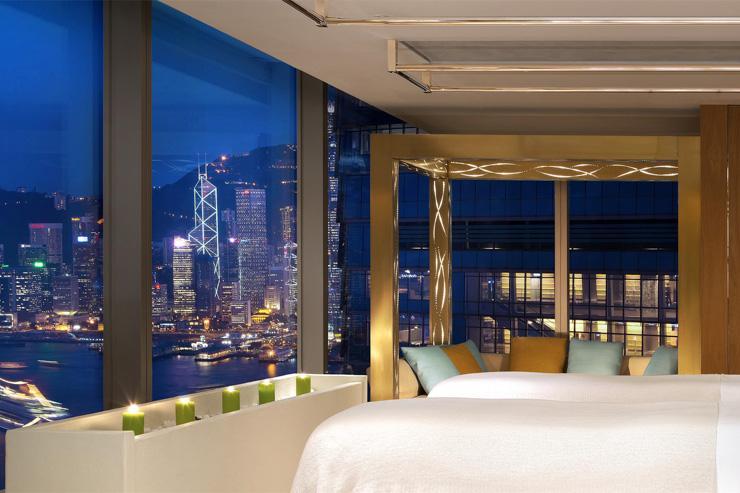 Bliss Spa au W Hong Kong - Spa avec vue