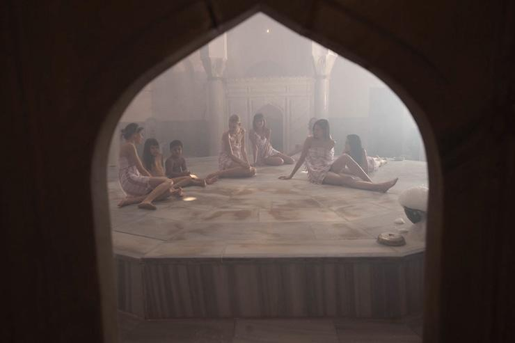 Çemberlitaş Hamamı - Salle de repos des femmes