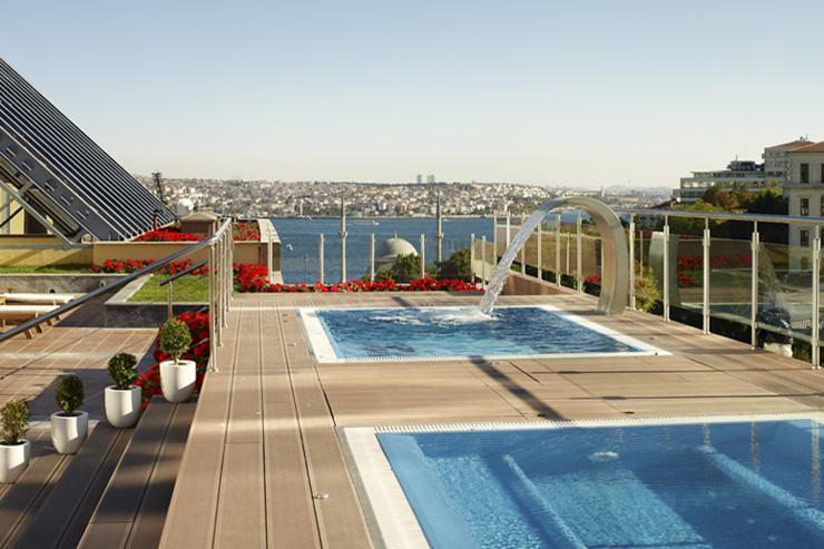 Open Air Spa au Ritz-Carlton Istanbul