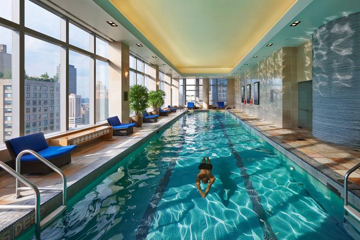 The Spa at Mandarin Oriental New York - Piscine avec vues