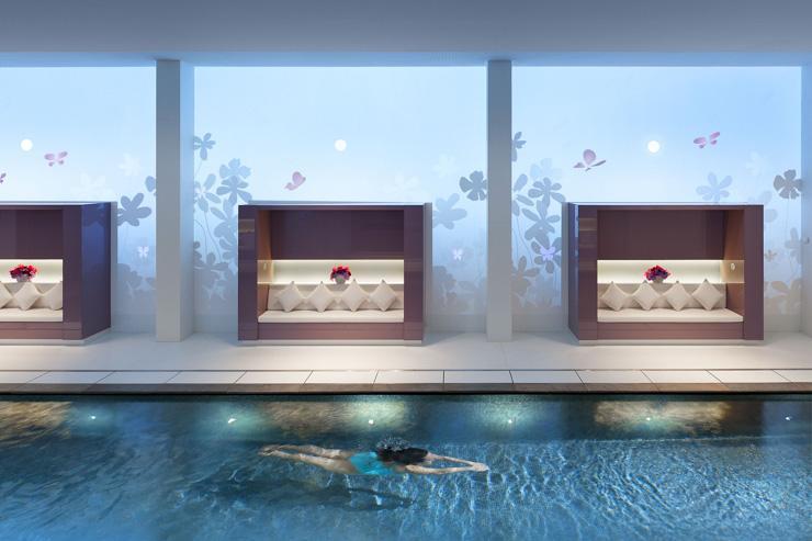 Spa au Mandarin Oriental Paris - La somptueuse piscine