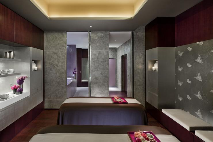 Spa au Mandarin Oriental Paris - L'une des luxueuses cabines doubles