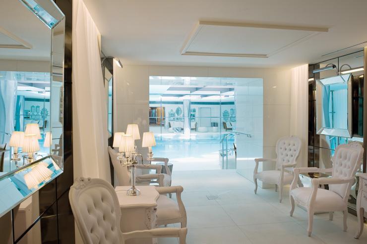 pa My Blend by Clarins au Royal Monceau Raffles - Intérieur du spa