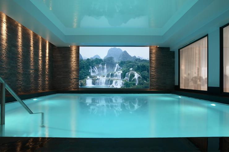 Villa Thalgo - La piscine