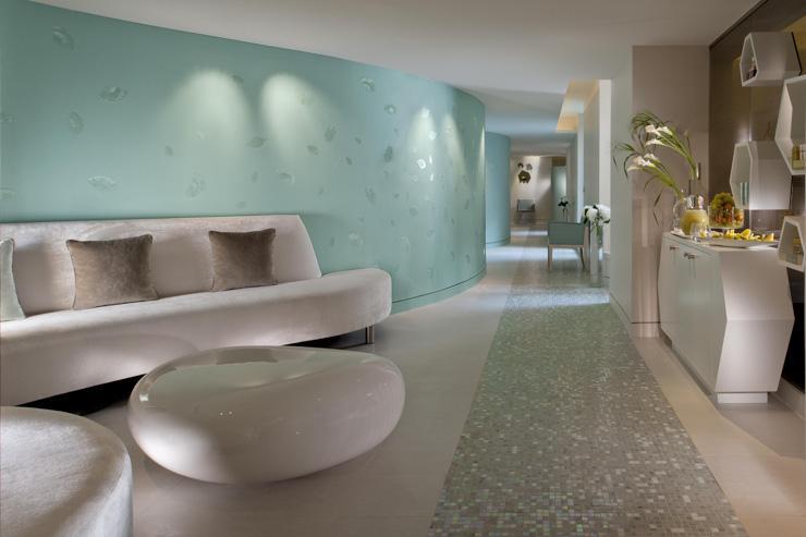 Spa Valmont au Meurice - Accueil du spa