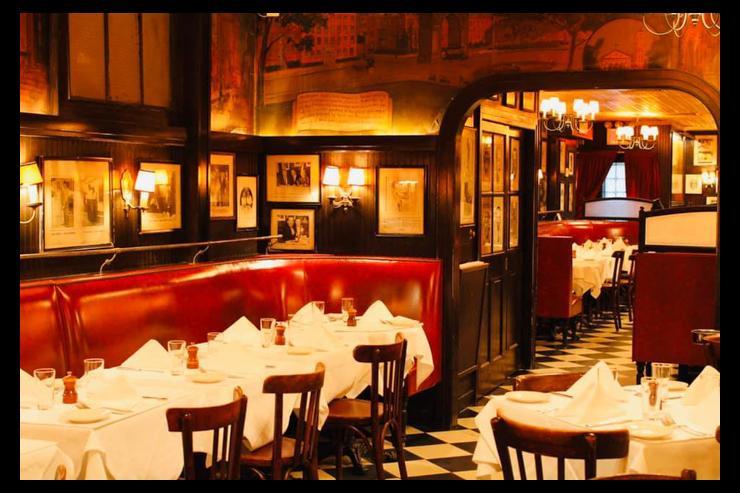 Minetta Tavern - Intérieur du restaurant
