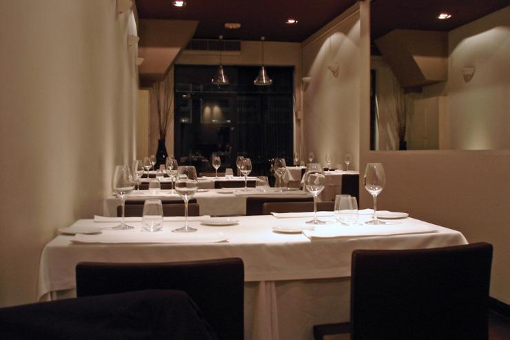 Gresca - Intérieur minimaliste du restaurant