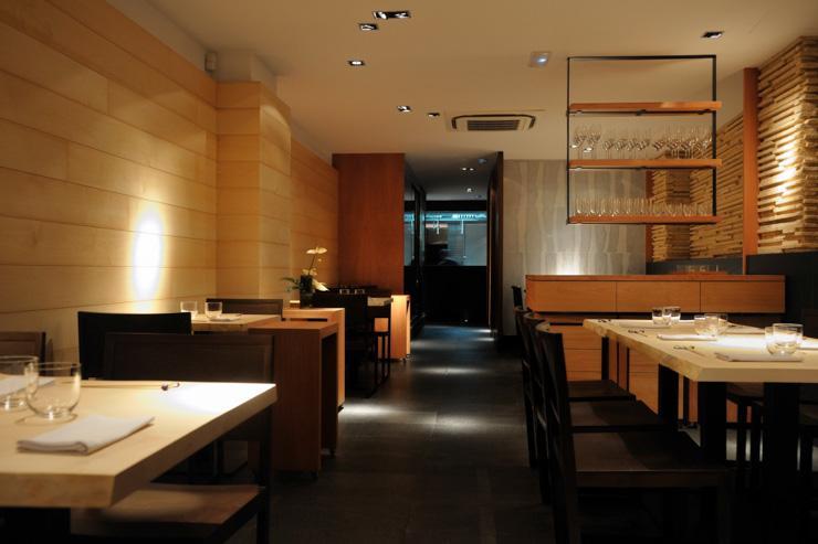 Koy Shunka - Intérieur chic du restaurant