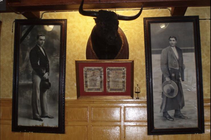 Los Toreros - Détail de la décoration