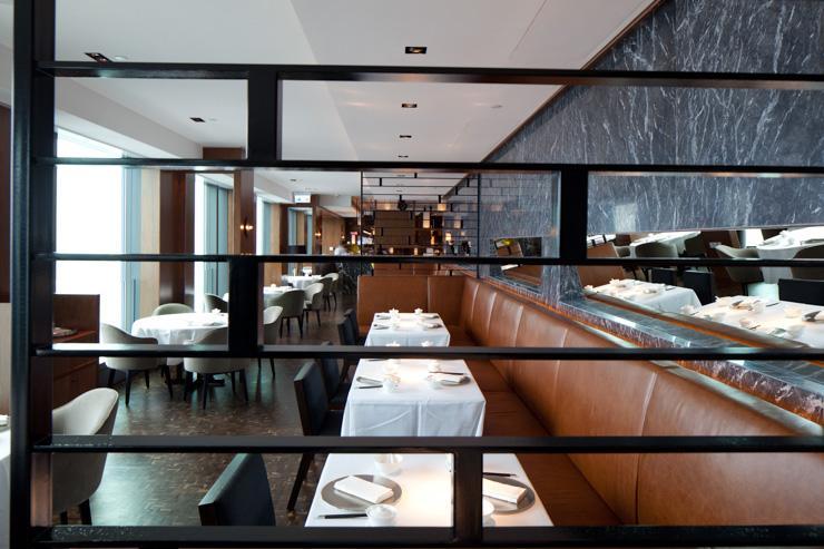 Above & Beyond à l'Hotel ICON - Intérieur du restaurant