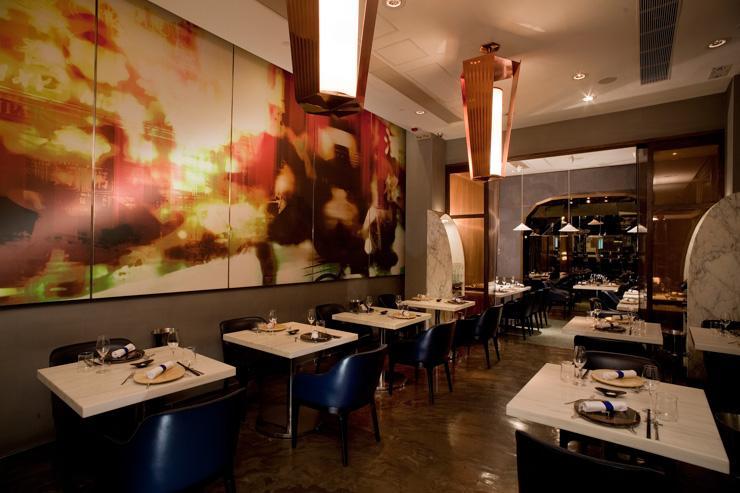 Bo Innovation - Intérieur du restaurant