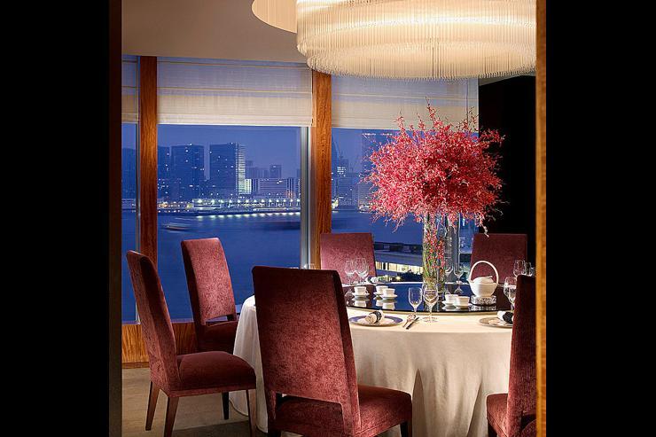 Lung King Heen au Four Seasons Hong Kong - Vue sur le port Victoria