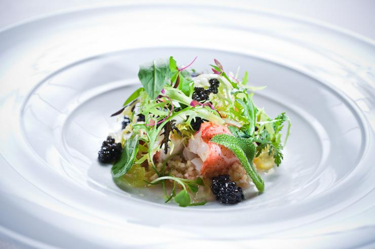 8 ½ Otto e Mezzo Bombana - Salade de homard