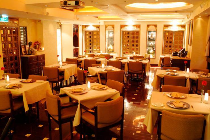 Tandoor - Intérieur du restaurant