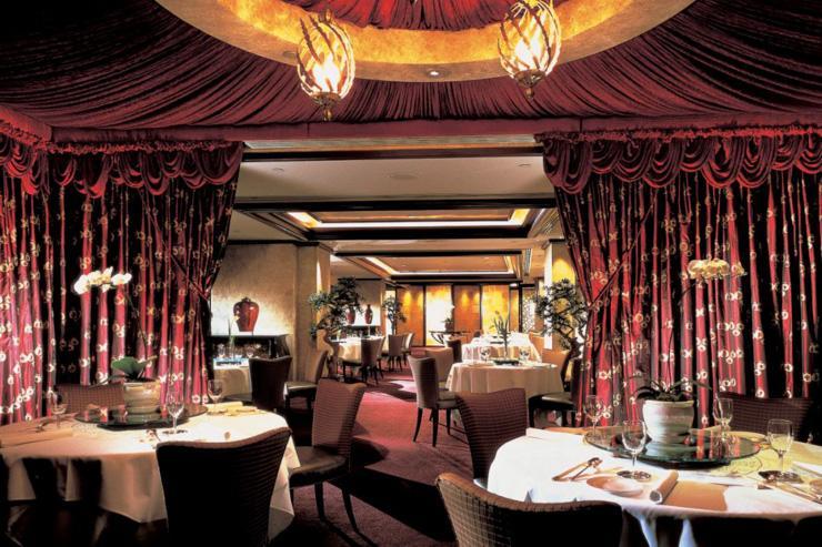 T'ang Court au Langham Hotel - Intérieur du restaurant