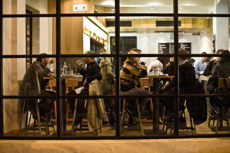 Yardbird - Intérieur du restaurant