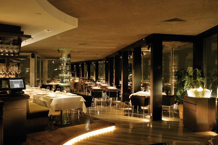 Intérieur du restaurant Mikla