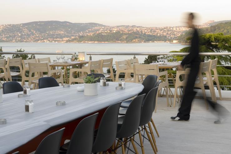 La terrasse du Müzedechanga