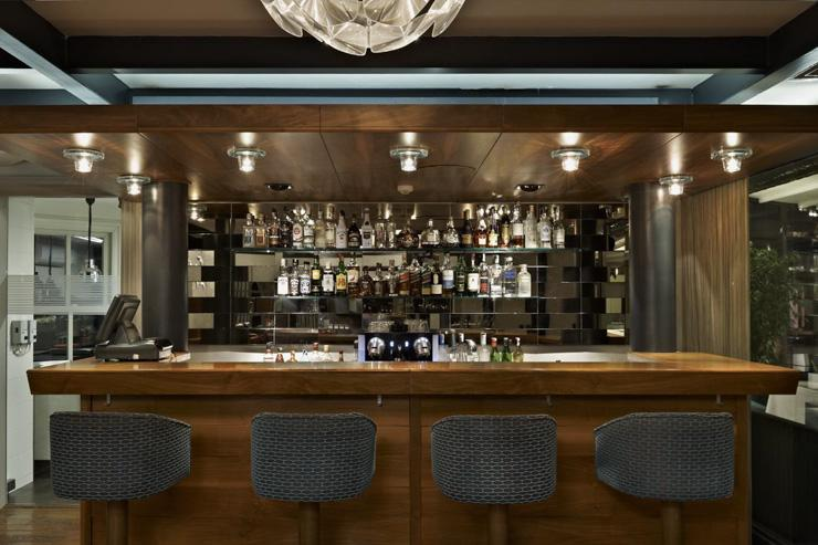 Nicole Restaurant à Istanbul - Le bar du restaurant