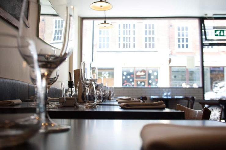 10 Greek Street - Intérieur du restaurant