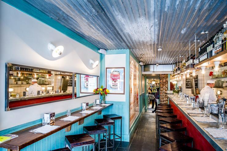 Ceviche - Intérieur du restaurant