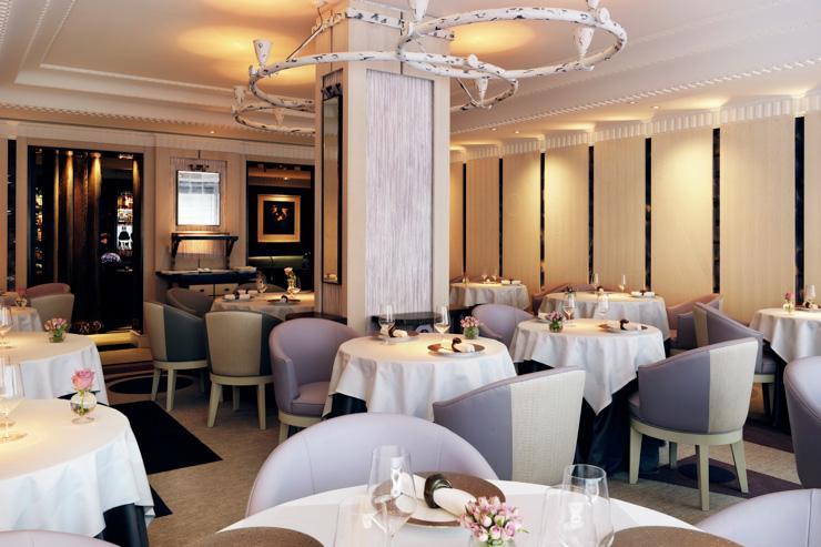 Restaurant Gordon Ramsay - Intérieur du restaurant