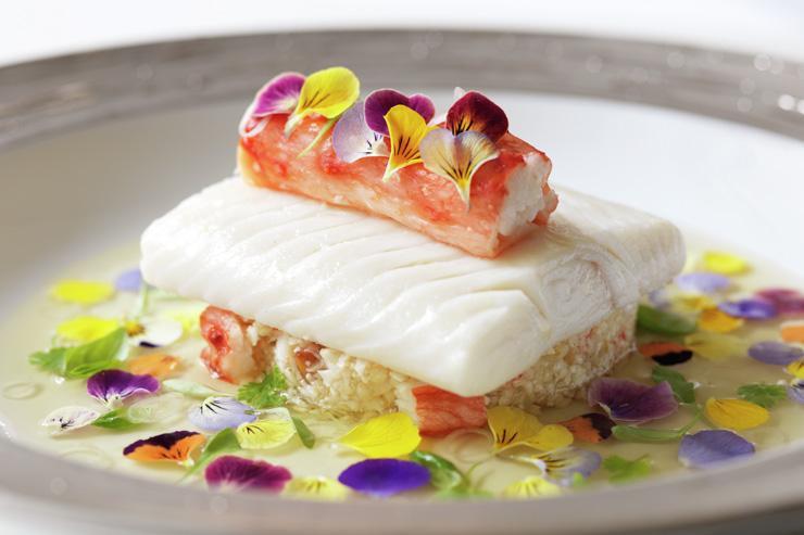 Restaurant Gordon Ramsay - Plat