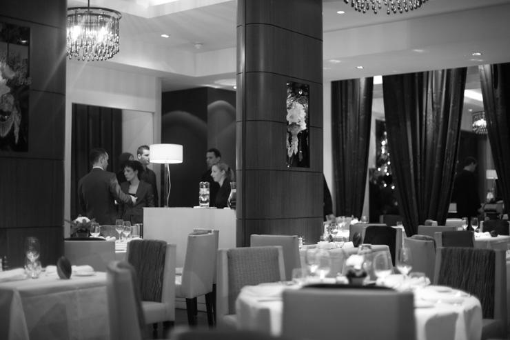 The Ledbury - Intérieur du restaurant