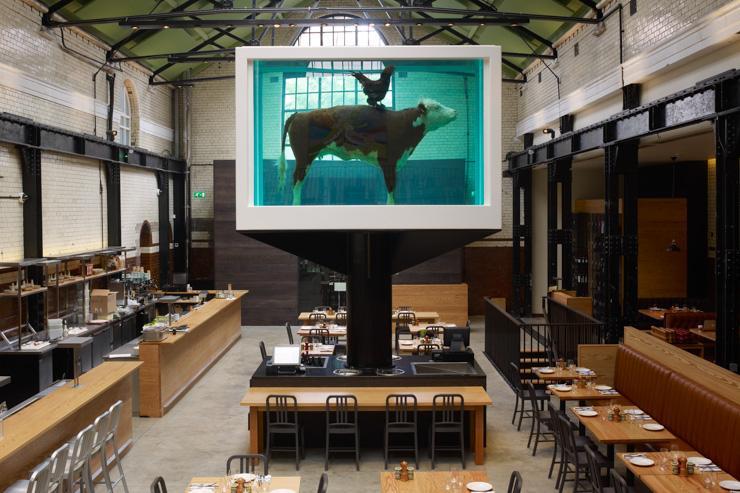 Tramshed - Intérieur du restaurant