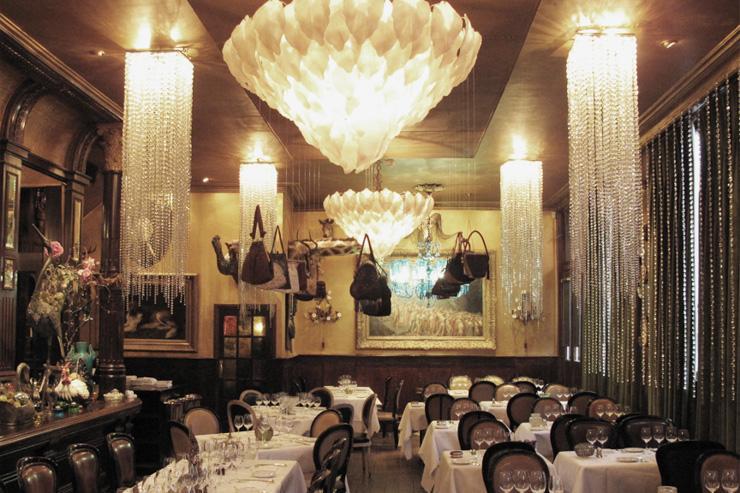 Les Trois Garçons - Intérieur du restaurant